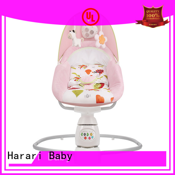 Harari Baby chair pink vibrating baby bouncer factory for entertainment