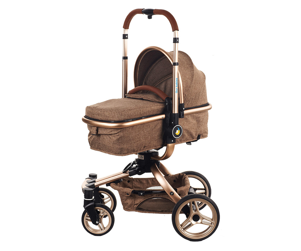 360 Degree Rotating European Style Baby Stroller 3in1 HBSS798
