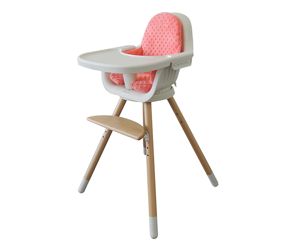 360 Rotation Simple design baby high chair HC-02