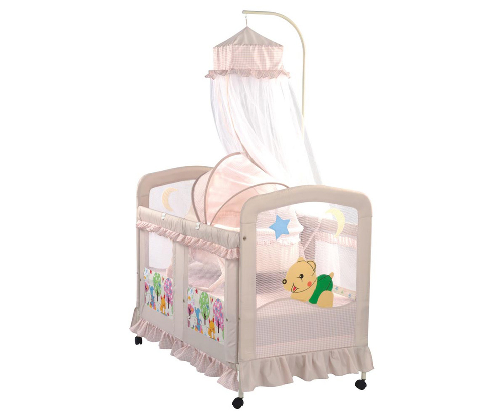 Foldable Carton Crib HRCC 692  Baby Cribs