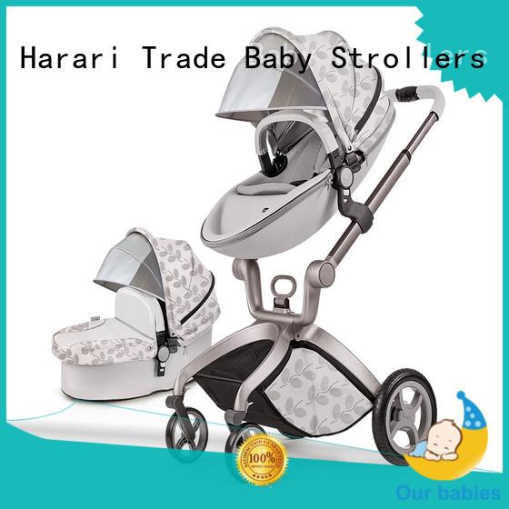 360 Degree high landscape Baby Stroller 3in1 HBH50