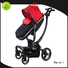 High-quality pink jogging stroller with car seat kids manufacturers for infant