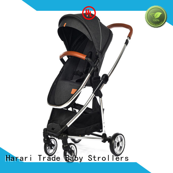 Wholesale black baby stroller foldable company for family
