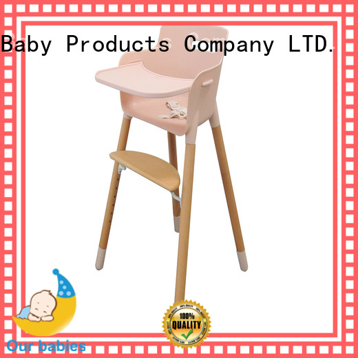 New small baby high chair restaurant factory for feeding