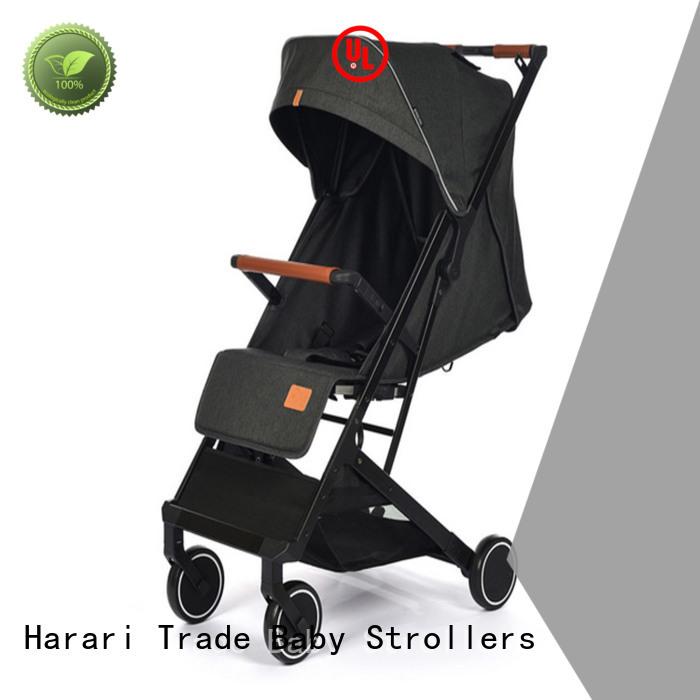Custom black baby pram multifunction for business for infant
