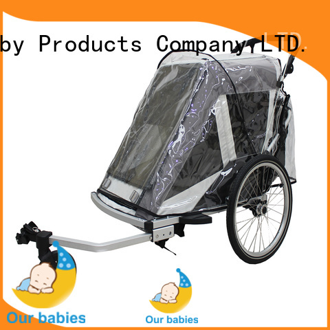 Harari Baby folding double baby jogging stroller for business for infant