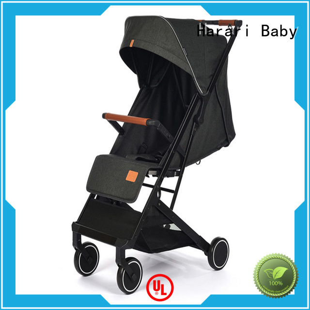 Harari Baby wheels all black baby stroller Suppliers for family