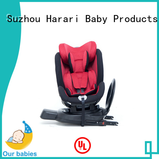 Harari Baby Custom pink baby car seat Supply for travel