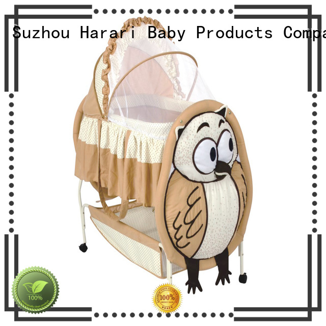 Harari Baby sleeping round playpen company for new moms and dads