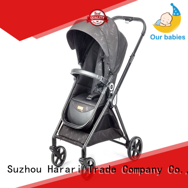 360 degree rotating folding stroller from China for infant Harari