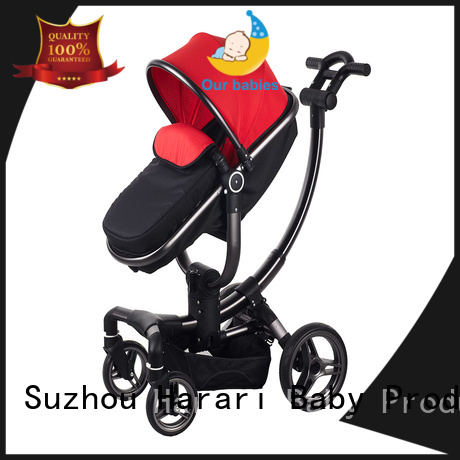 Harari quality black baby stroller manufacturers for child