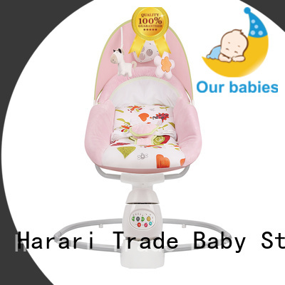multicolor baby bouncer customized for playing