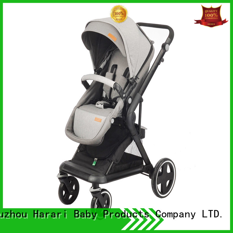 Harari Custom baby stroller offers company for family
