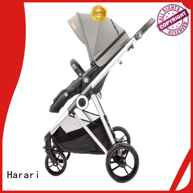 Harari popular double jogging stroller factory for child