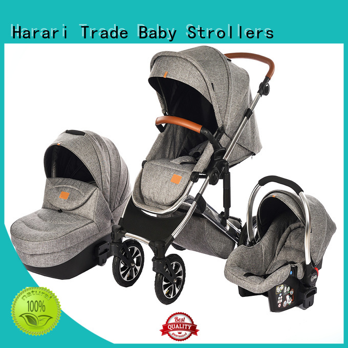 European Popular Style Multi-function Baby Stroller 3in1 HBSA32