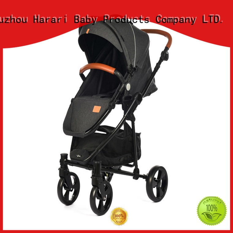 Wholesale pink jogging stroller with car seat landscape Suppliers for child
