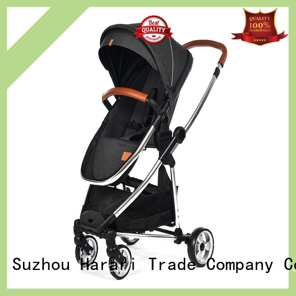 Harari three wheels baby trolley manufacturer for family