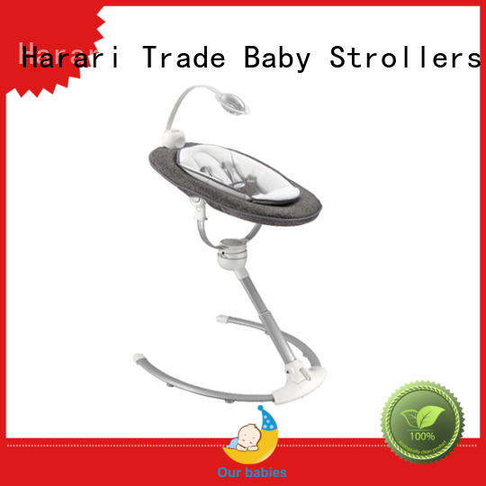 Harari Wholesale grey baby bouncer chair company for entertainment