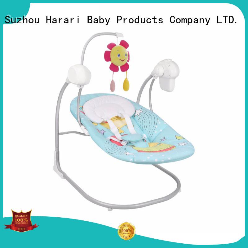 Harari Baby folding a baby bouncer company