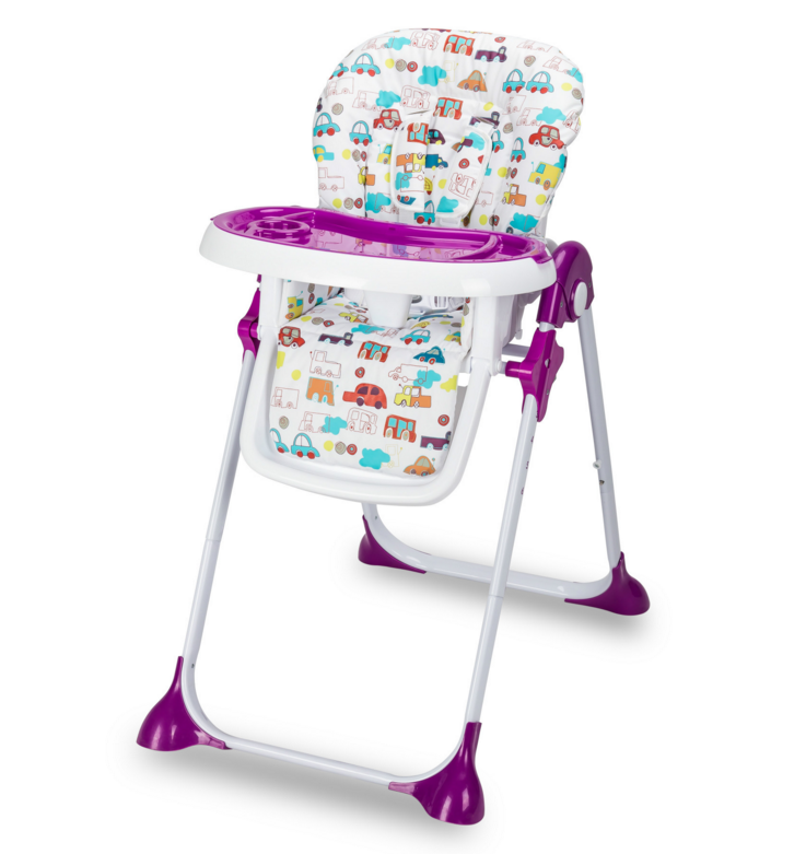 Foldable plastic infant dinning baby high chair HR-D-008