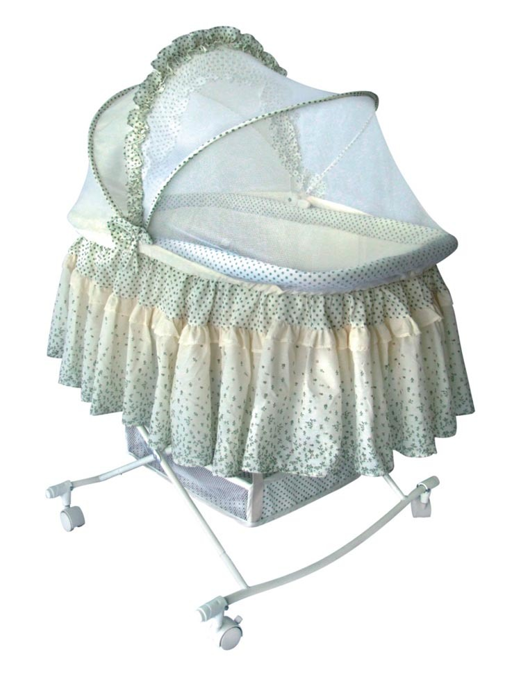 Comfortable baby cradle with Mosquito Net HRCC822