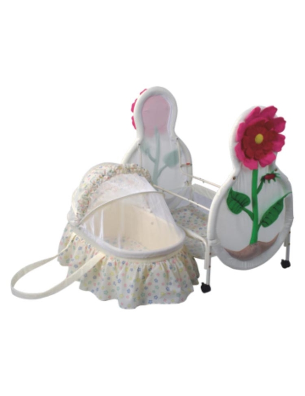 Can be used as carrying cot in separated condition