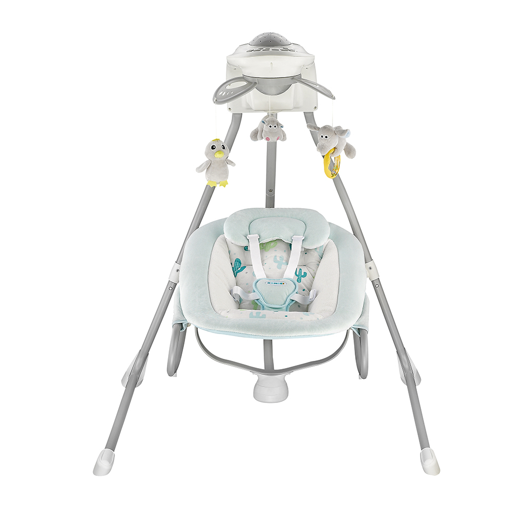 Adjustable musical baby rocker BY028