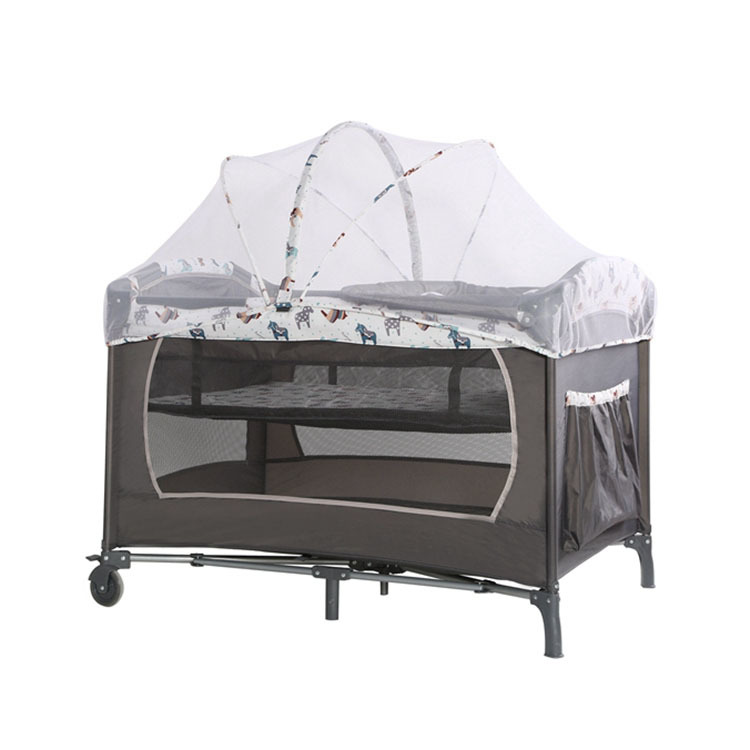 Newborn baby bed 3 in 1 HP-82-02