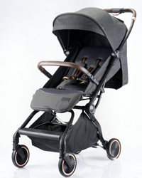 Self folding by one hand Auto folding light weight travel baby stroller K9
