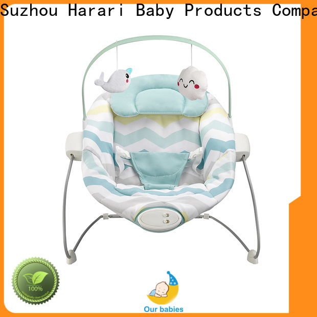Harari Baby Wholesale self rocking baby bouncer Supply for playing