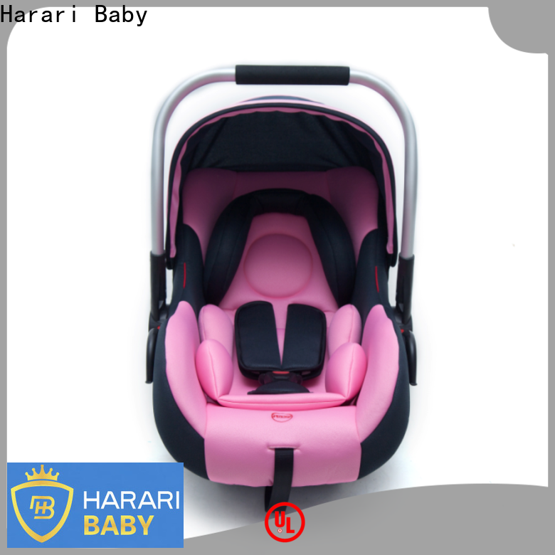 Latest cheap girl car seats system factory for travel