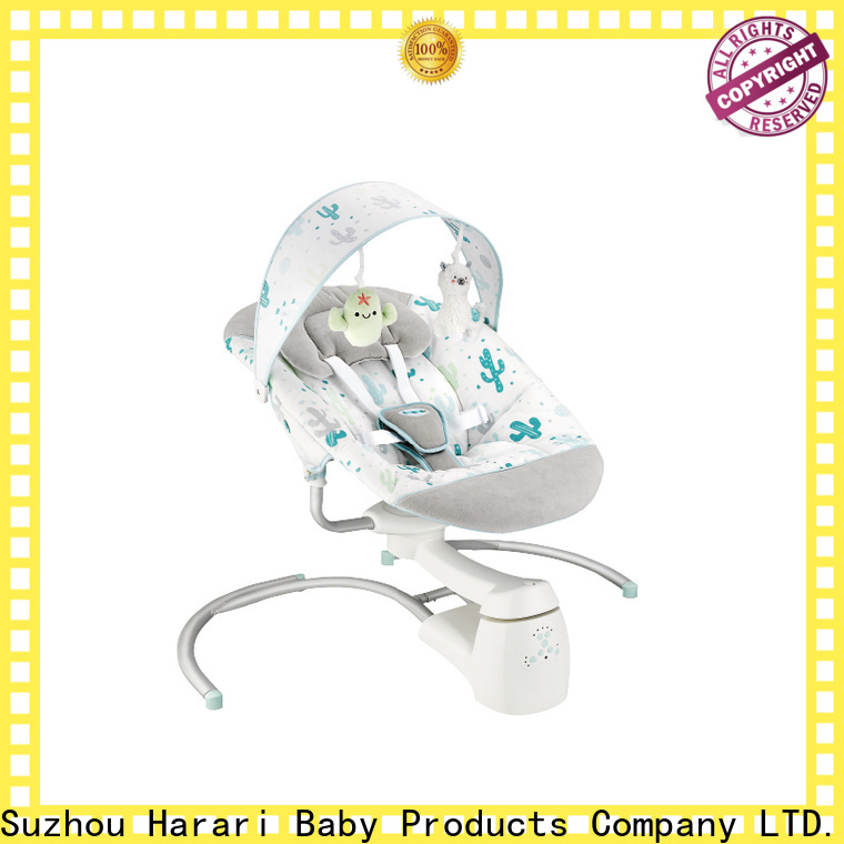 Wholesale pink baby bouncer swing folding factory for entertainment