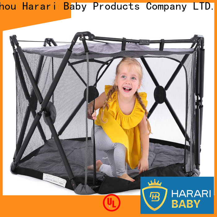 High-quality playpen with changing table steel Supply for new moms and dads