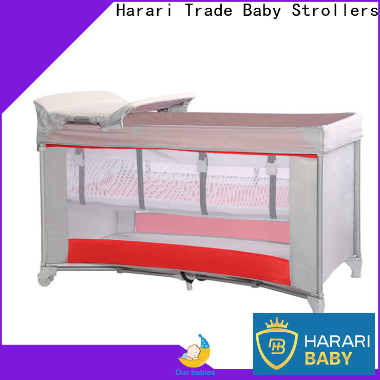 Harari Baby playpen with changing table company