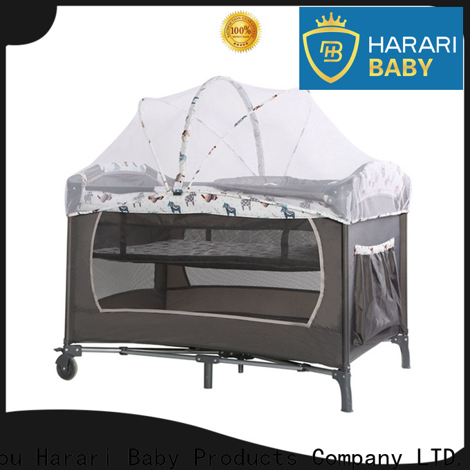 High-quality playpen with changing table factory