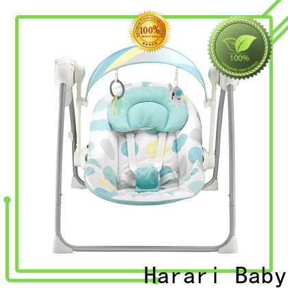 Harari Baby High-quality pink baby swing chair factory