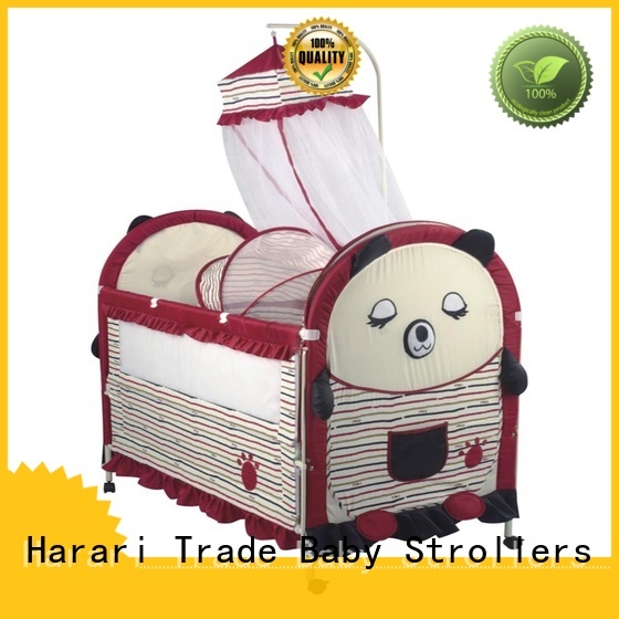 Harari carton baby cribs supplier for new moms and dads