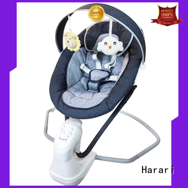 Harari cribs pink baby bouncer swing Suppliers for playing