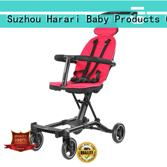 New all black stroller and carseat fasionable factory for toddler