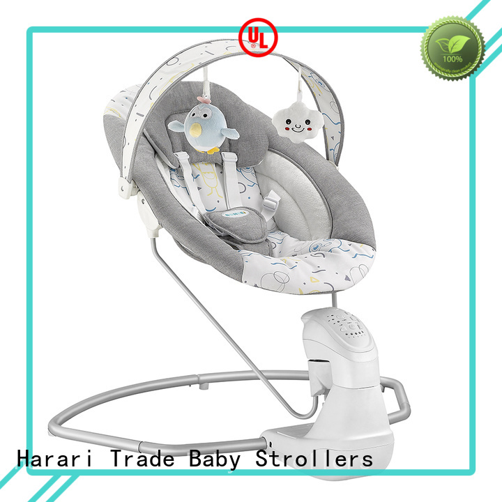 Latest blue baby bouncer rocker portable company for entertainment