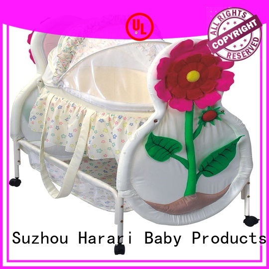 Harari Baby bassinet round playpen for babies for business for crawling