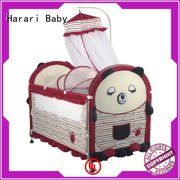 Harari Baby lovely pink playpen for babies factory for playing