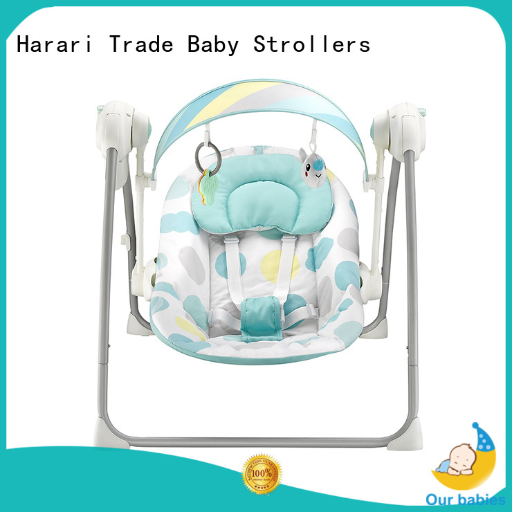 New self swinging baby chair electric factory for playing