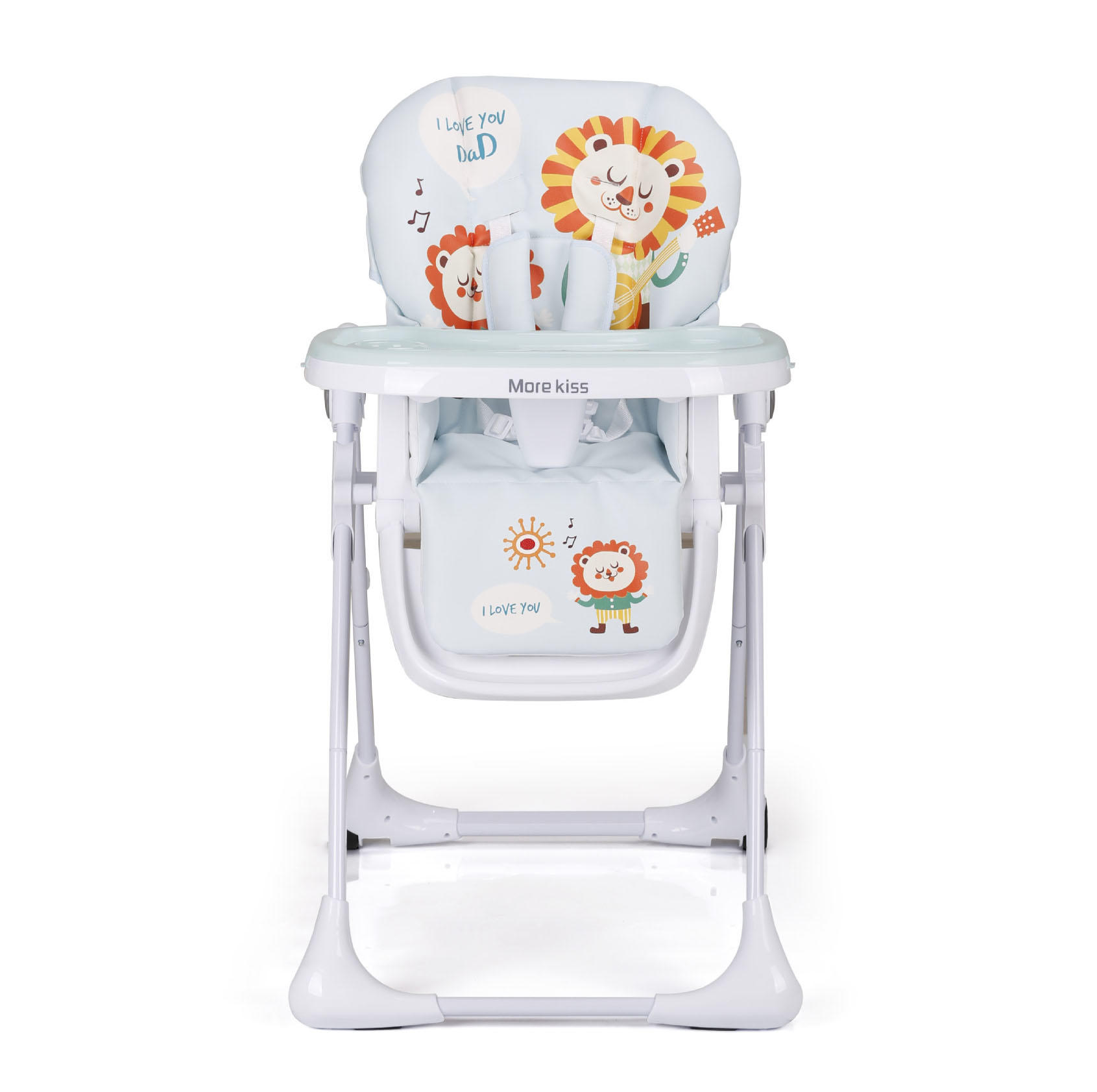 Harari 360 degree rotating wooden high chair directly sale for feeding-2