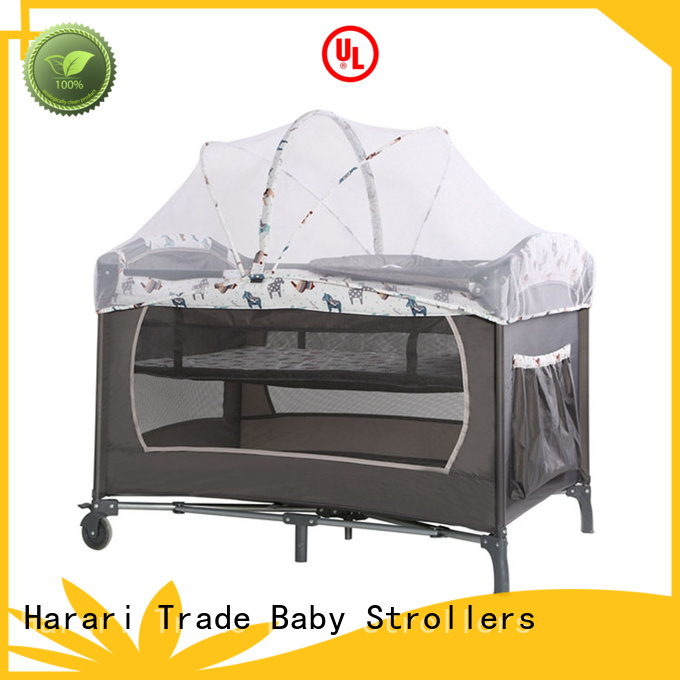 Latest round playpen adjustable factory for new moms and dads