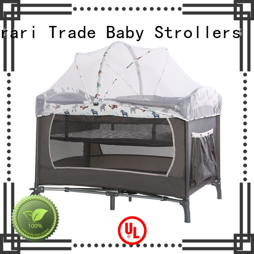 Harari steel portable playpen for toddlers manufacturers for new moms and dads