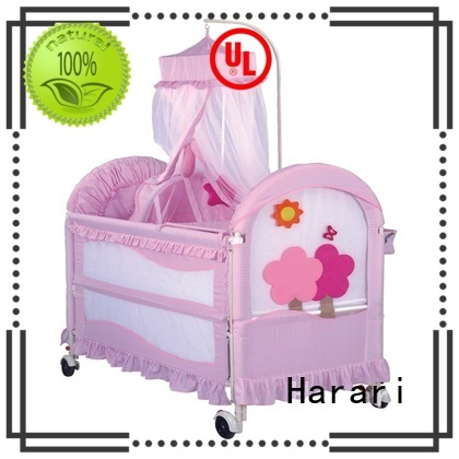Harari comfortable playpen bed Suppliers for baby