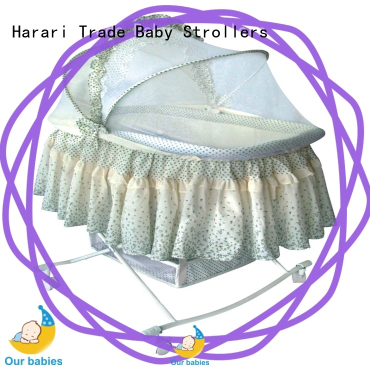 Harari Baby mosquito round playpen for business for new moms and dads
