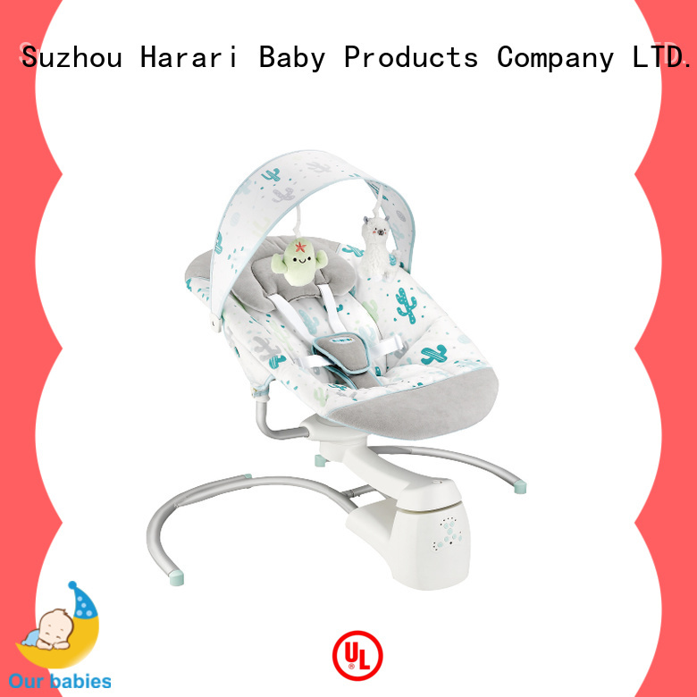 Top neutral baby rocker vibration for business for playing