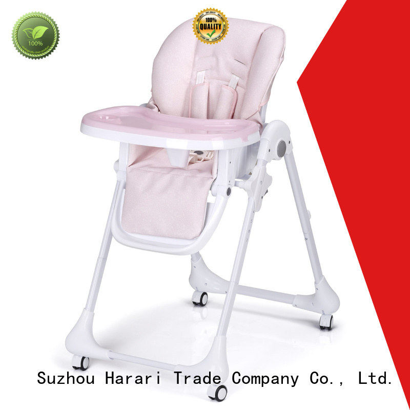 Harari high quality adjustable high chair directly sale for feeding